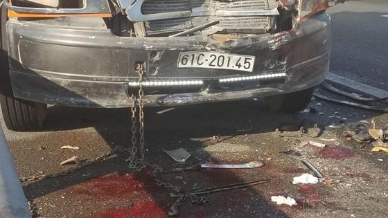 Va chạm liên hoàn trên cao tốc TPHCM - Trung Lương, 1 người tử vong ảnh 1