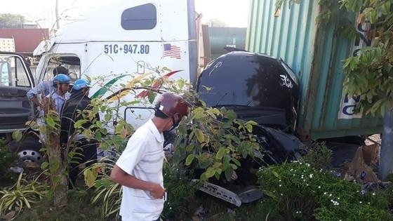 Tạm giữ tài xế xe container gây tai nạn khiến 5 người tử vong ảnh 1