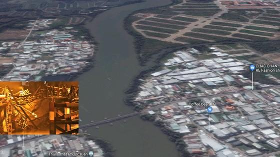 Cầu Long Kiển sập do quá tải 4 lần  ảnh 1