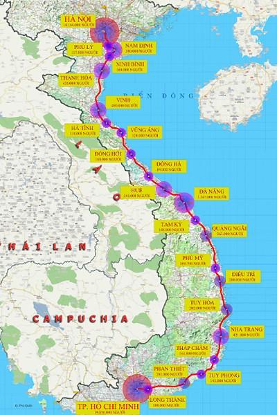 Cần 58,71 tỷ USD xây đường sắt tốc độ cao Bắc Nam ảnh 1