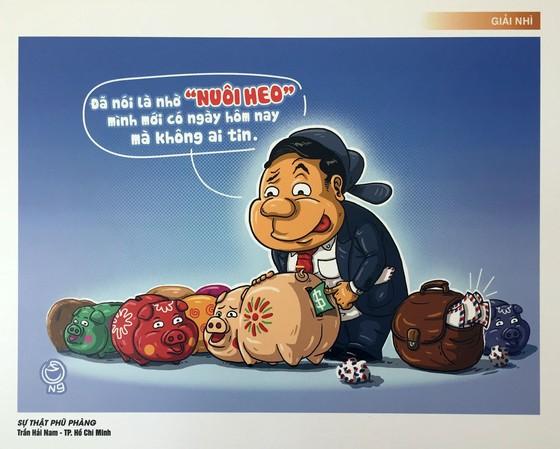 Triển lãm Tranh biếm họa phòng chống tham nhũng ảnh 2