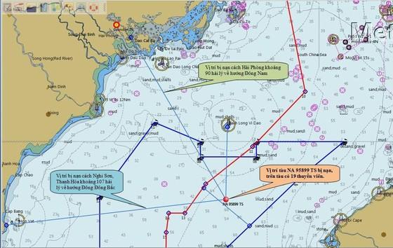 Tìm thấy 2 thi thể trong vụ tàu cá chìm gần đảo Bạch Long Vĩ ảnh 2