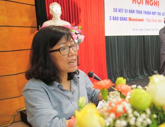 Sơ kết 1 năm kết nghĩa 3 Báo Đảng Hànộimới - Thừa Thiên Huế - Sài Gòn Giải Phóng ảnh 4