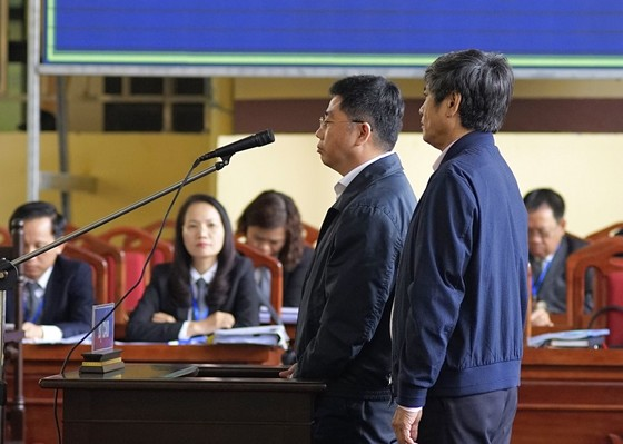 Đối chất lời khai của cựu tướng Nguyễn Thanh Hóa tại tòa ảnh 2