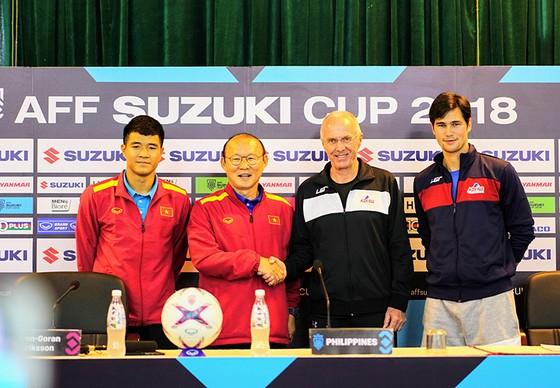 Họp báo trước Bán kết lượt về AFF Cup: Thầy Park tự tin về cơ hội đi tiếp ảnh 1