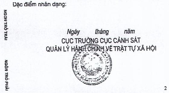 Bộ Công an công bố hợp nhất về mẫu thẻ căn cước công dân ảnh 2