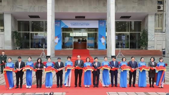 Khai trương Trung tâm báo chí quốc tế Hội nghị thượng đỉnh Mỹ - Triều ảnh 1