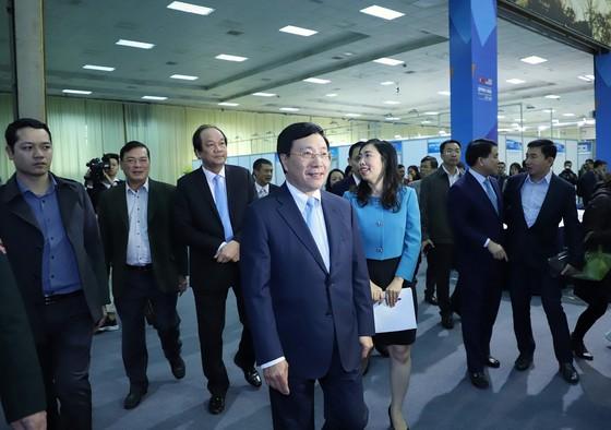 Khai trương Trung tâm báo chí quốc tế Hội nghị thượng đỉnh Mỹ - Triều ảnh 2