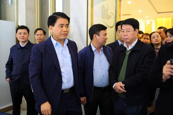 Khai trương Trung tâm báo chí quốc tế Hội nghị thượng đỉnh Mỹ - Triều ảnh 4