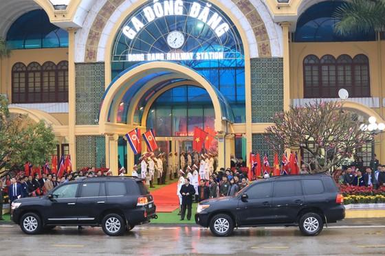 Ông Kim Jong-un đã đến ga Đồng Đăng ảnh 6