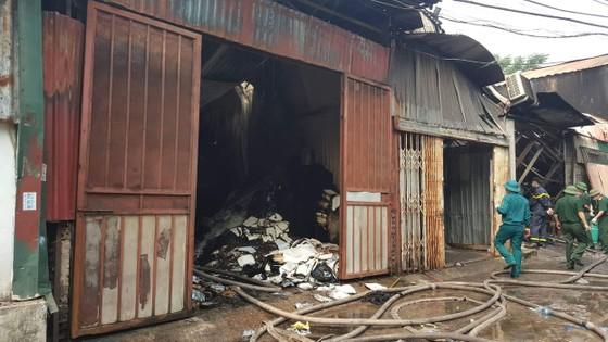 Vụ cháy nhà xưởng ở Hà Nội: Cả 4 người trong một gia đình tử nạn ảnh 1