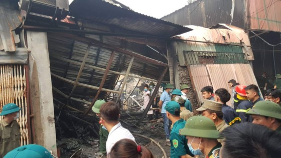Vụ cháy nhà xưởng ở Hà Nội: Cả 4 người trong một gia đình tử nạn ảnh 2