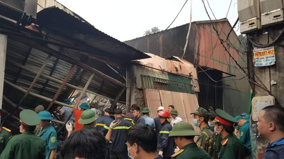 Vụ cháy nhà xưởng ở Hà Nội: Cả 4 người trong một gia đình tử nạn ảnh 4