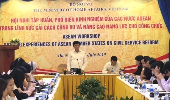 Các nước Đông Nam Á ngồi lại chia sẻ kinh nghiệm quản lý công vụ ảnh 1