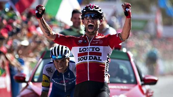 Thomasz Marczynski là cua-rơ thứ 2 thắng cú đúp ở Vuelta a Espana 2017