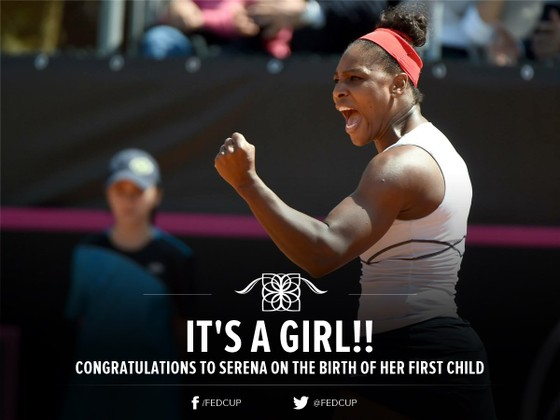 Serena sinh con gái ảnh 1