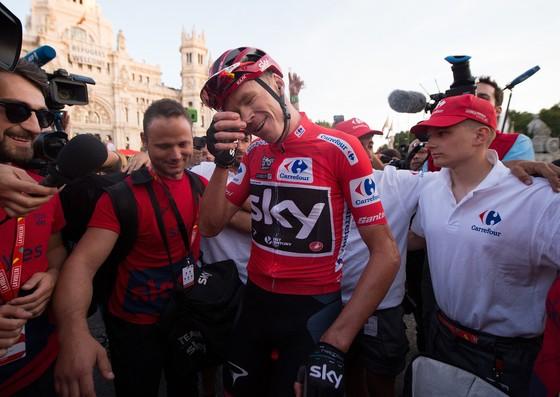 Vuelta a Espana 2017: Froome đi vào lịch sử ảnh 5