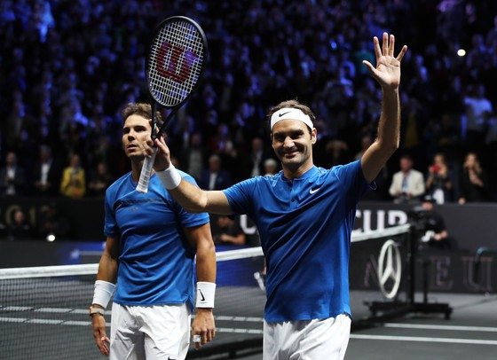 Federer, Nadal sát cánh, tuyển châu Âu dẫn 9-3 ảnh 4