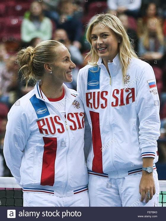 Sharapova luôn giữ khoảng cách với người khác ảnh 1