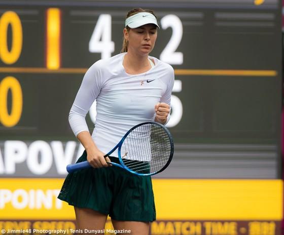 Sharapova thắng trận mở màn ở Tianjan Open