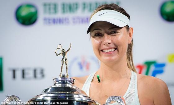 Maria Sharapova tham gia sự kiện ở Istanbul