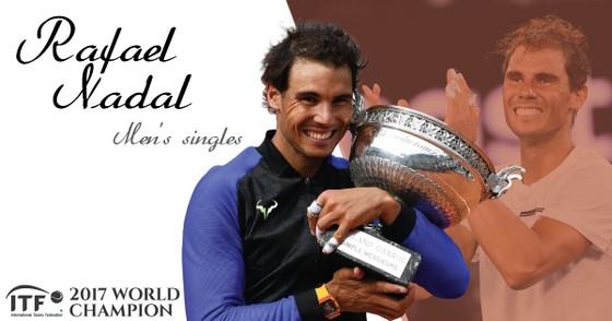 Nadal, Muguruza là Nhà vô địch ITF của năm 2017 ảnh 2