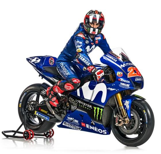 Đua xe mô tô: Yamaha giới thiệu mẫu xe đua mới YZR-M1 ảnh 6