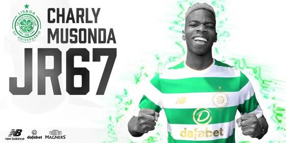 Charly Musonda chuyển đến Celtic theo bản hợp đồng cho mượn 18 tháng