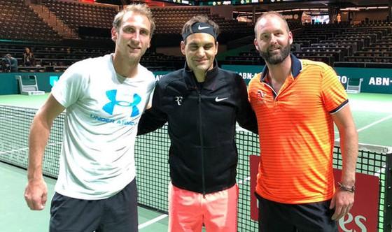 Rotterdam Open 2018: Federer tiếp tục săn đuổi lịch sử ảnh 1
