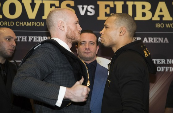 George Groves (trái) và Chris Eubank Jr