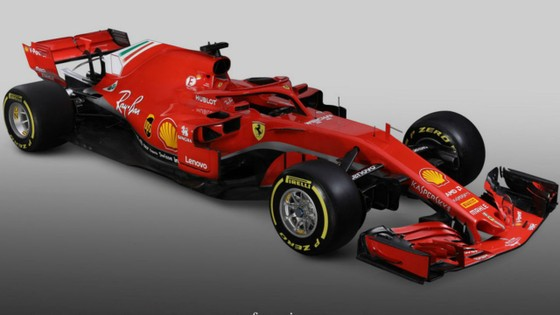 Đua xe F1: Ferrari công bố mẫu xe SF71H, Vettel và Raikkonen phấn khích ảnh 2