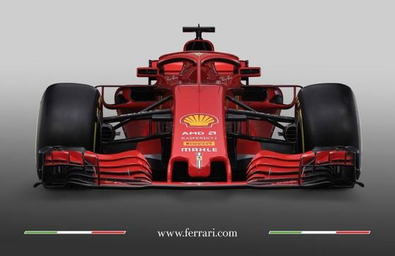 Mẫu xe đua mới SF71H của Ferrari