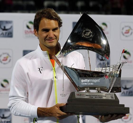 Federer từng 7 lần đăng quang ở Dubai