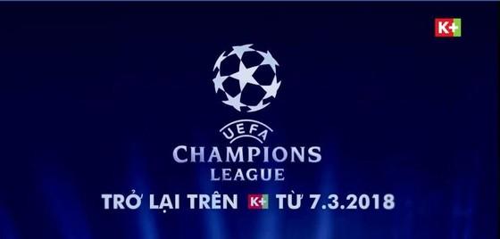 Champions League sẽ quay lại Việt Nam trên K+