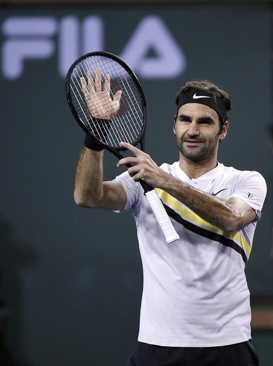 Indian Wells 2018: Toàn thắng trận thứ 16, Federer giữ ngôi Nhà vua ảnh 1