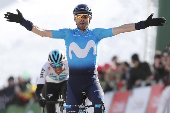 Alejandro Valverde tạm vươn lên đỉnh UCI World Tour 2018