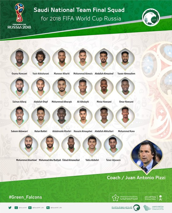 World Cup 2018: Các đội tuyển công bố DS cầu thủ ảnh 2