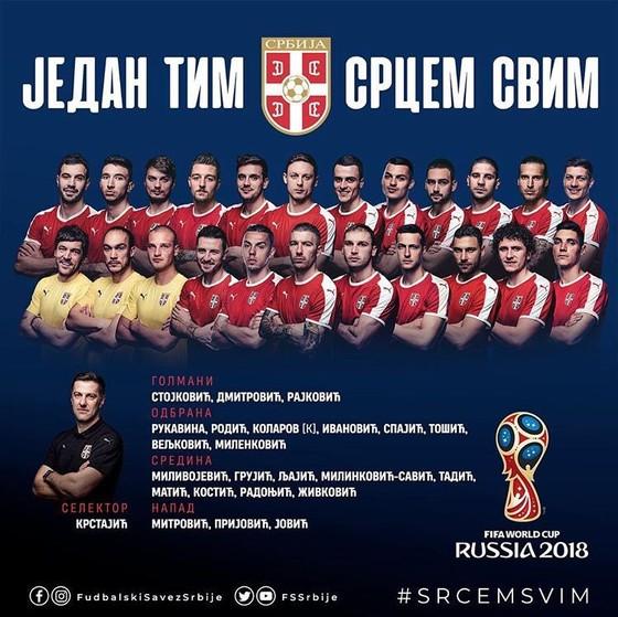 World Cup 2018: Các đội tuyển công bố DS cầu thủ ảnh 19