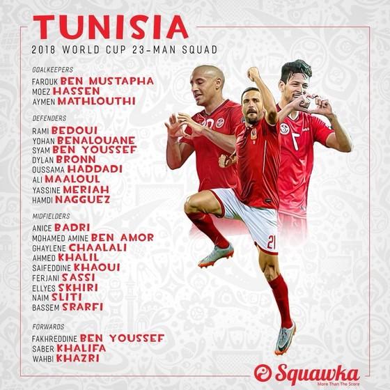 World Cup 2018: Các đội tuyển công bố DS cầu thủ ảnh 28
