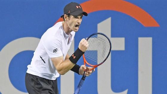 Andy Murray phấn khích sau chiến thắng
