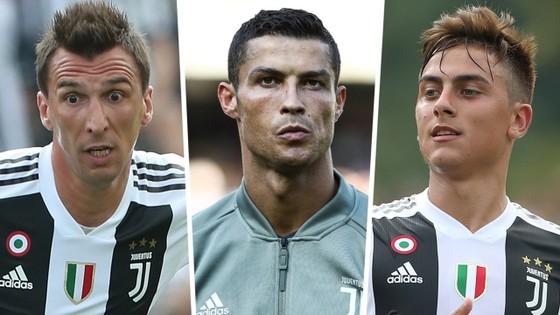Bộ 3 Mandzukic, Ronaldo và Dybala