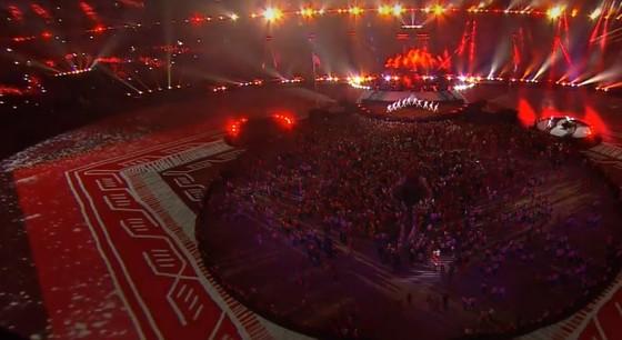 Lễ bế mạc Asiad 2018: Ngập tràn sắc màu về một châu Á đoàn kết và thống nhất ảnh 10