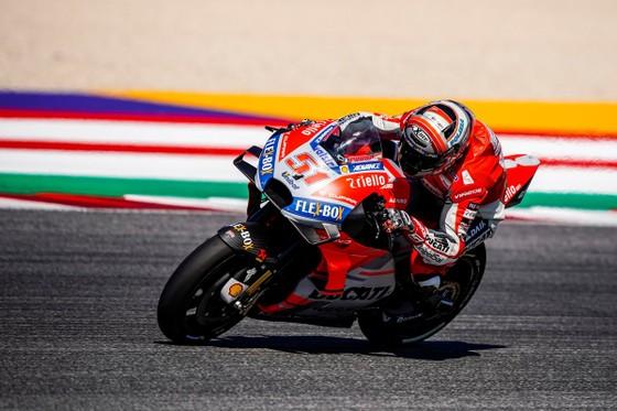 Đua xe mô tô: Đánh bại Marquez, Dovizioso giành chiến thắng ở Misano ảnh 1