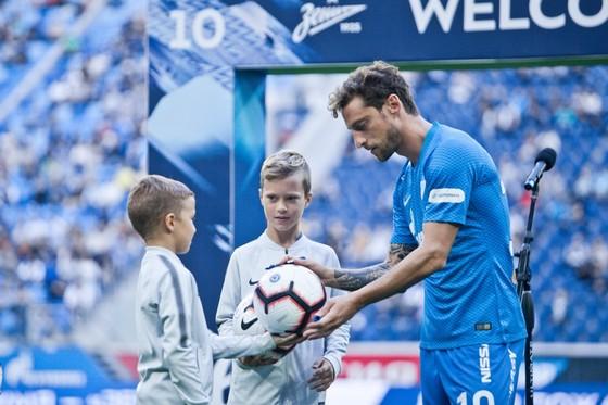 Claudio Marchisio ở Zenit: Khoác áo số 10 vì… Del Piero ảnh 3