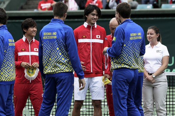 Davis Cup 2018: Giành quyền trụ hạng, làng quần vợt Nhật Bản lại đón nhận tin vui ảnh 2