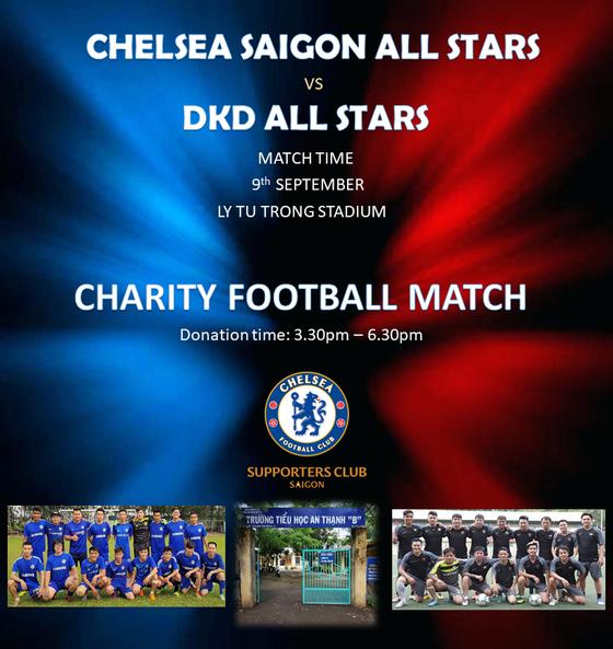 Đá Không Đánh FC hòa Chelsea SG All Stars 4-4 trong trận cầu thiện nguyện ảnh 2