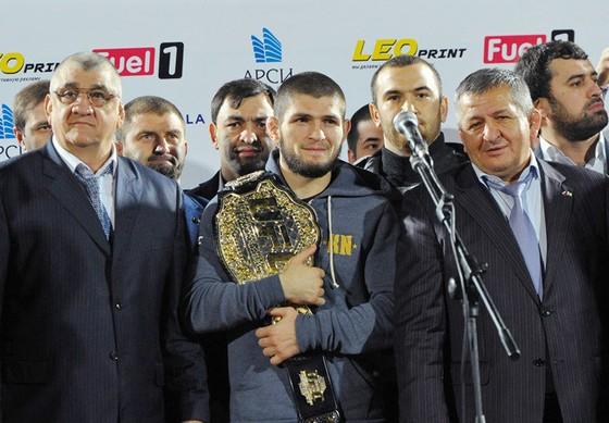 Khabib dọa bỏ UFC: Quyết đi đến cùng vì huynh đệ ảnh 2