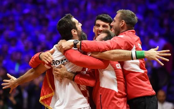"""Chung kết Davis Cup: """"Người hùng"""" Cilic mang đến danh hiệu thứ 2 cho Croatia ảnh 2"""