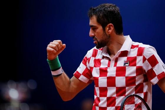 """Chung kết Davis Cup: """"Người hùng"""" Cilic mang đến danh hiệu thứ 2 cho Croatia ảnh 1"""