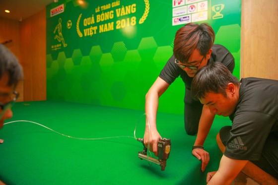 Gala trao giải Quả bóng Vàng Việt Nam 2018: Hồi hộp trước giờ công bố ảnh 11